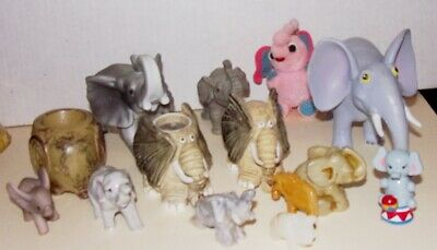 14 Piece Vintage Elephant Collection.