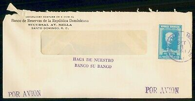 Mayfairstamps Dominican Republic 1963 Santo Domingo Airmail Cover wwe91441