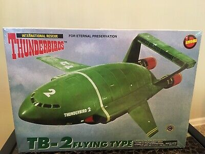 "Thunderbirds Classic TB-2 ""Flying Type"" 1/350 Scale Model Kit By IMAI"