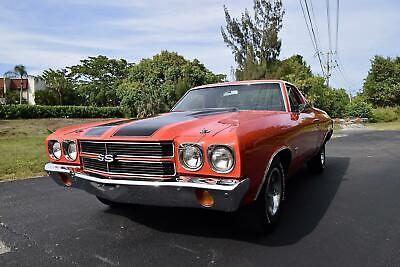 1970 Chevrolet El Camino 396/350 HP  1970 Chevrolet El Camino 396/350 HP TH350 Automatic Factory A/C