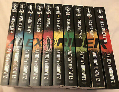 Alex Rider: The 10-Book Collection by Anthony Horowitz (2015, Paperback)