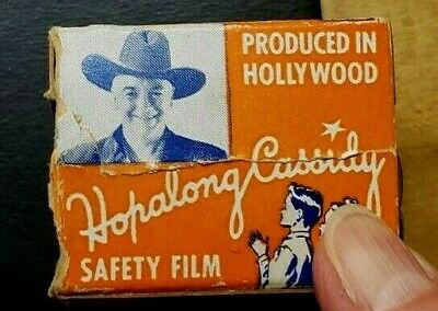 Hopalong Cassidy 35mm Safety Film VERY RARE Mini-Movie 1950