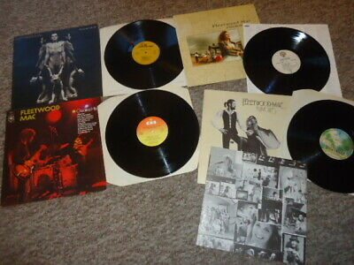 Joblot X4 Fleetwood Mac Uk Vinyl Lp, Nm Heroes,Rumours,Greatest Hits,Mask,Rock
