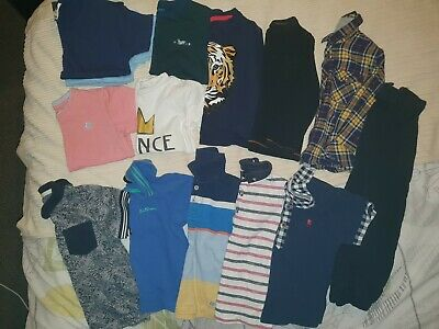Bundle Of Boys Clothes 3-4 Years Gap Ben Sherman Junior J