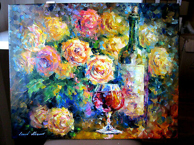 "Original Ölgemälde Von Leonid Afremov 217: ""Ready For Her"""