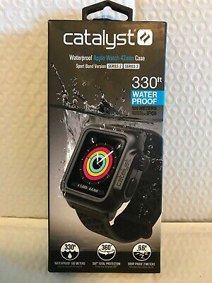 Catalyst - Protective Waterproof Case for Apple Watch™ 42mm - Stealth Black NEW!