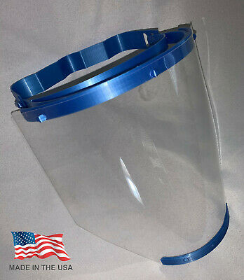 BRAND NEW Medical Face Shield Guard w/Comfort Band REUSABLE PPE -Made in the USA