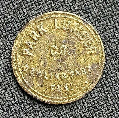 Good For Trade Token - 10c Park Lumber Co. Dowling Park,FL - Suwannee County