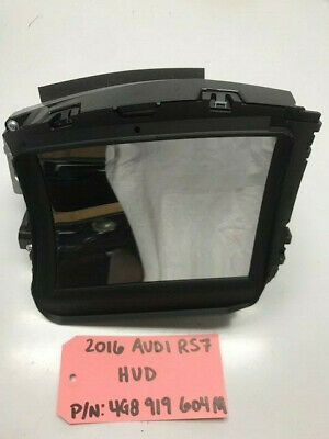 2016 Audi Rs7 S7 A7 Oem Hud Heads Up Display Projector 4G8919604M 14-17 24K