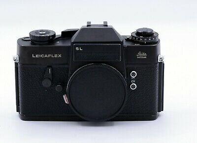 LEICA LEICAFLEX SL 35mm FILM BLACK SLR CAMERA BODY