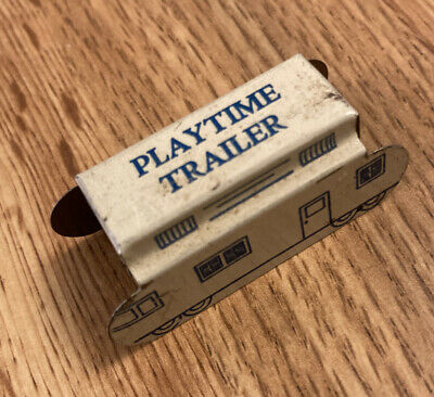 CRACKER JACK PLAYTIME TAILER TIN LITHO STAND-UP TOY 1930's PRIZE PREMIUM
