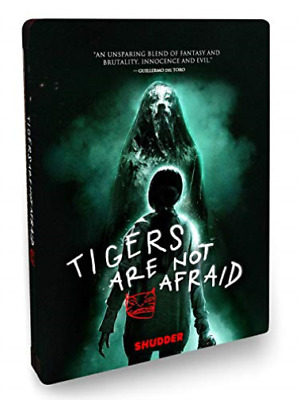 PB HORROR-TIGERS ARE NOT AFRAID STEELBOOK (BR/DVD) (SPANISH W/ENG- Blu-Ray NUOVO