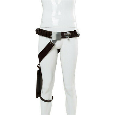 Movie Star Wars Han Solo Belt with Gun Holster Cosplay Costume Accessories Prop