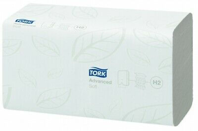 New Tork H2 Xpress 120289 Hand Towel Multifold Soft Advanced - White Carton (21