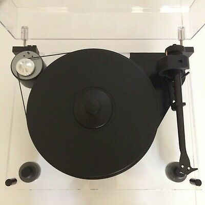 Pro-Ject 6 Perspex  Turntable With Goldring 1042 Stylus Boxed
