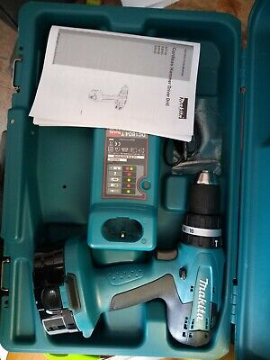 Makita 8391DWPQ 18V Cordless Drill with battery and charger