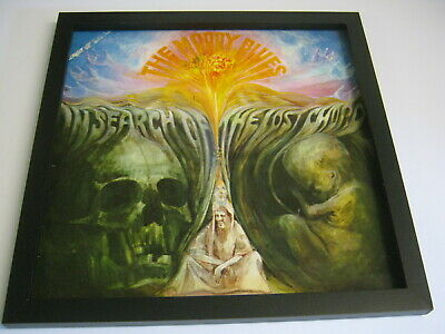 Iconic Framed Record Album Covers - Moody Blues - In Search Of The Lost Chord