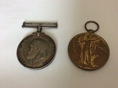 WORLD WAR I Machine Gun Corps Medals