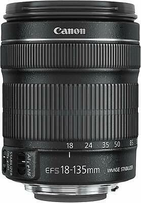 NEW Canon EF-S 18-135mm f/3.5-5.6 IS STM EOS RETAIL BOXED - SEALED