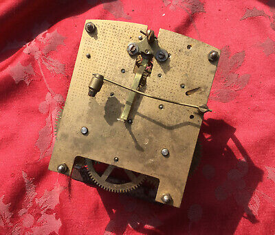 Enfield 2 Train Striking Clock Movement For Spares Or Repair Good Springs