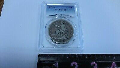 AUTHENTIC 1876-S Trade Dollar PCGS VG08