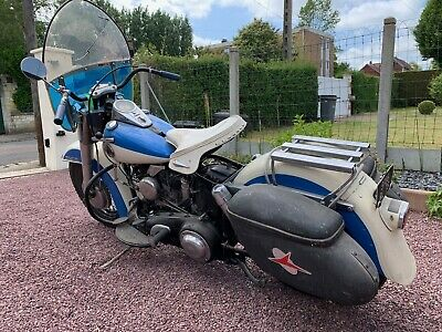 Harley duo glide 1958 a vendre ou échange
