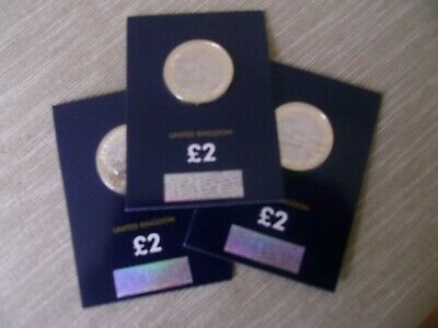 New 2020 Uk Captain Cook £2 Bu Coin In Sealed Card 3Rd Coin In Series Royal Mint