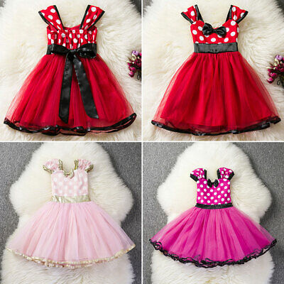 Newborn Toddler Kid Baby Girl Princess Flowers Party Tutu Tulle Dress Clothes