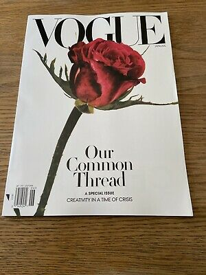Vogue Usa Magazine-American Vogue-June/July 2020-Our Common Thread