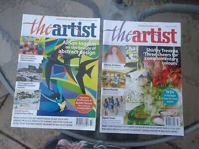 Two Copies Of The Artist Magazine