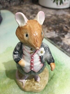 Royal Doulton Brambly Hedge Figurine - Dusty Dogwood - Boxed - Perfect