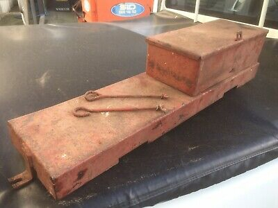 International Harvester Tractor B450,614,634 Genuine Battery Box With Fittings