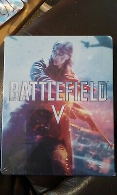 Battlefield five steel book for ps4 (no game)