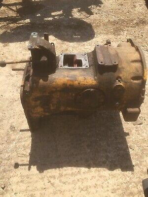 Fordson major Roadless County Doe Tractors Rare Heavy Duty Gearbox With Greaser