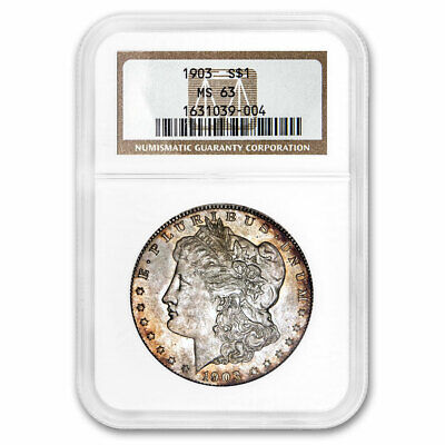 1903 Morgan Dollar MS-63 NGC (Toned) - SKU#213455