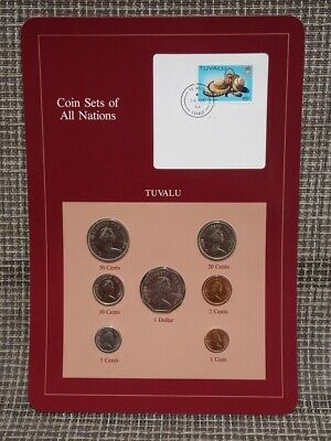 Franklin Mint Coin Sets Of All Nations 1984 Tuvalu
