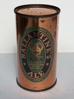 Ballantine's Ale 12oz flat top beer can