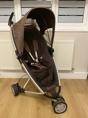 Quinny Zapp pushchair/stroller with rain cover