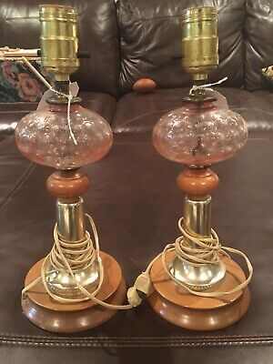 Depression Glass Lamps