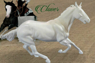 Traditional Size Unpainted Artist Resin Gymkhana Stock Horse, CLOVER