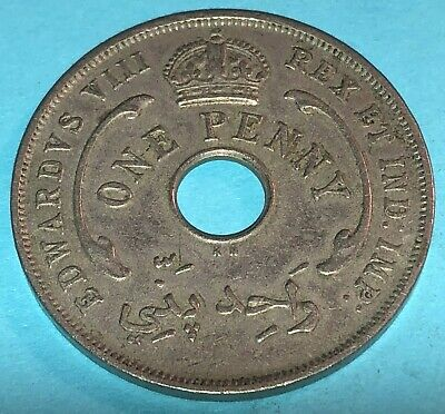 British West Africa 1936 One Penny