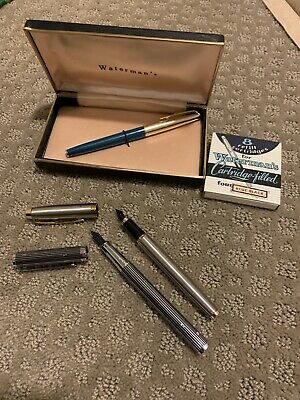 Lot Of 3 Vintage Fountain Pens
