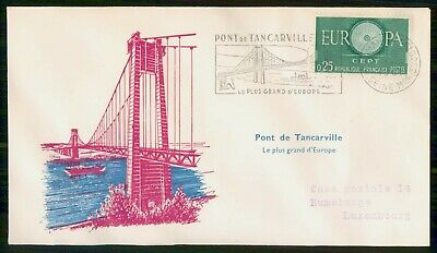 Mayfairstamps France 1960s Pont De Tancarville cover wwe93883