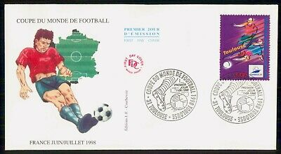 Mayfairstamps France 1996 Soccer Football First day cover wwe93937