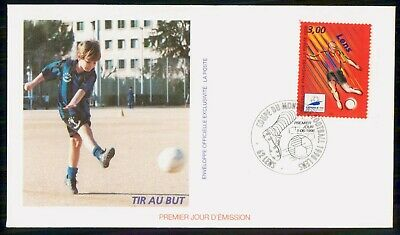 Mayfairstamps France 1996 Soccer Tir Au But First day cover wwe93957