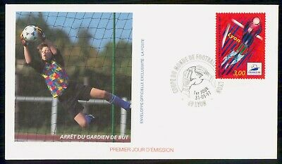 Mayfairstamps France 1997 Soccer Football First day cover wwe93939