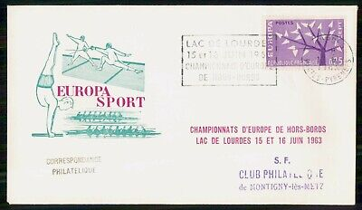 Mayfairstamps France 1960s Europa Sport cover wwe93903