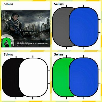 Selens Chromakey Disc Background Panel Collapsible 3 x 5' Backdrop Photo Disc