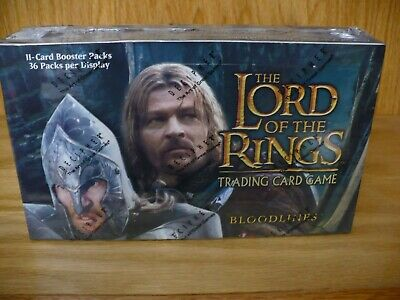Lord of the Rings TCG 'Bloodlines' sealed box trading cards