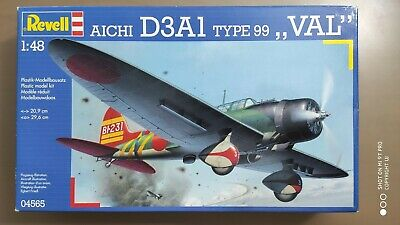 """Revell 04565 Aichi D3A1 Type 99 """"VAL""""  1 : 48"""